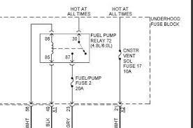 chevy fuel pump relay diagram wiring diagram sample