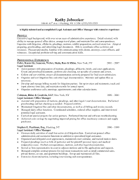 12 Legal Assistant Resume Samples Offecial Letter