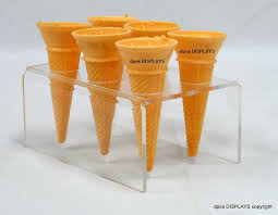 Ice Cream Cone Display Stand Amazing Acrylic Ice Cream Cone Display Case Acrylic Ice Cream Cone Display