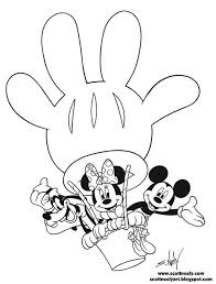 Mickey Mouse Clubhouse Coloring Page Coloring Pages Más Coloring