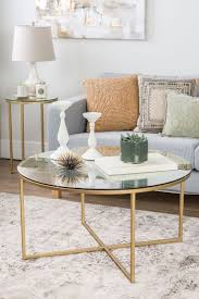 Best Round Coffee Tables Ideas On Pinterest - Coffee table with chair