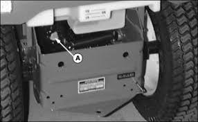 service transmission 3 move hydraulic control lever back and forth a few times to relieve pressure