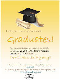 Publisher Flyers Easy To Edit And Free To Download Graduation Party Flyer Template