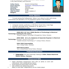 Templates In Ms Word 2010 Resume Templatecrosoft Word Curriculum Vitae Format In Ms Cv Sample