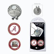 ball markers. amazon.com : ncaa alabama crimson tide cap clip with 2 golf ball markers sports \u0026 outdoors