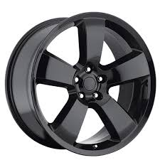 Dodge Charger Lug Pattern Gorgeous 448 Dodge Charger SRT48 Wheels Gloss Black OEM Replica Rims OEM4848