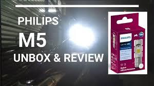 Bóng đèn pha led xe máy Philips M5 + 100% Siêu Sáng