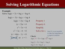 solve logarithmic equations calculator tessshlo