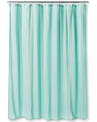 Great Deals On Threshold Shower Curtain Embroidered Stripe Aqua