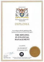 Курсы Финансовый менеджмент дистанционно за дней Диплом dipfm