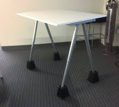 this simple diy standing desk was found at the code fellows campus in seattle wa it s an instructor desk so it s typically used to hold a laptop