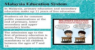 Malaysia Education System Education System In Malaysia