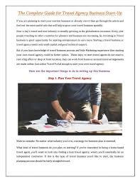 Help Writing Tourism Business Plan Tourism Business Plan Sample