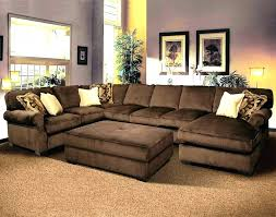 extra deep seated sectional sofa sofas living room furniture couches e64