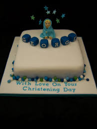 Two Christening Cakes Pink Or Blue Casa Costello