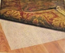 new non slip rug pad 5 x 8 for all hard floors grid