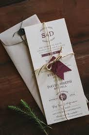 Diy Wedding Invitations With Ribbon Invitation Printing