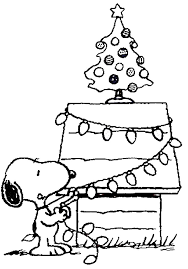 Small Picture Free Printable Charlie Brown Christmas Coloring Pages For Kids