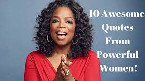 Powerful Women Quotes Enchanting 48 AWESOME QUOTES FROM POWERFUL WOMEN IWD48 SISIYEMMIE