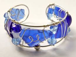 sea gl cuff bangle bracelet in colors of the bracelets and jewelry