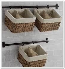Bathroom wall storage baskets Stylish Bathroom Wall Hanging Baskets For Bathroom Storage Wall Mount Storage Baskets Wall Storage Units With Baskets Bathroom Goodworksfurniture Wall Hanging Baskets For Bathroom Storage Importance Of Ample
