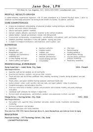 Lpn Sample Resume Beauteous Lpn Resumes Resume Sample New Graduate 48 Super Ideas Best Collection
