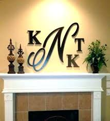 metal wall letters metal letters for wall initial letter wall decor s metal initial letters wall
