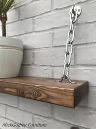 unique industrial furniture. Image Is Loading Set-of-2-Rustic-Unique-Industrial-Floating-Chain- Unique Industrial Furniture
