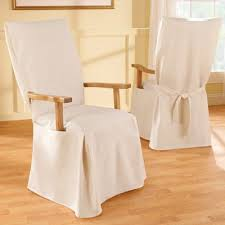 Great New Linen Dining Chair Covers Property Decor dfwagocom