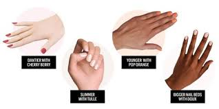 Skin Tone Nail Polish Color Matching Chart Best Nail Colors For Your Skin Tone Most Flattering Nail