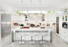 all white kitchen designs. Kitchen:Hardwood Floors For Kitchens Natural Worn Out Wooden Ceiling White Along With Kitchen Inspiring All Designs D