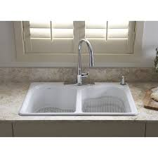 Drop In White Kitchen Sink Granite Composite Image Is Loading