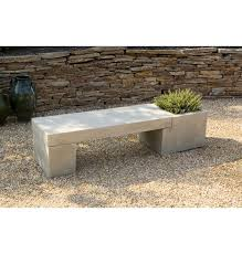 bench design extraordinary concrete garden bench concrete