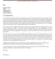Social Work Cover Letter Template – Directory Resume