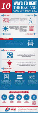 10 Ways To Beat The Heat And Cool Off Your Bill [Infographic]