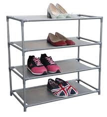 Home Basics 10 Tier Coated Non Woven Shoe Rack Shoe Rack Coated NonWoven FreeStanding Shoe Organizer Shoe Tower 7