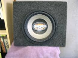 speakers in box. 10in kicker cvr in box only $75.00 sold as is can be tested speakers