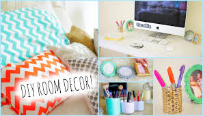 Room Decor Diy Diy Room Decorations For Cheap How To Stay Organized Youtube