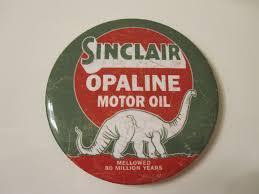 1 of 3 sinclair opaline motor oil service station gas oil garage metal toolbox magnet