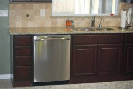 how to secure dishwasher under granite countertop