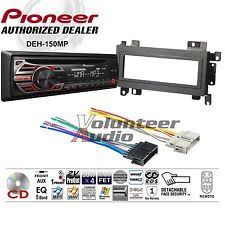 jeep cherokee wiring harness pioneer car radio stereo cd player dash install mounting kit wiring harness fits