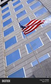 American Flag Office Image Photo Free Trial Bigstock