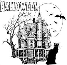 Small Picture Spooky Halloween Coloring Pages Fun for Halloween