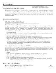 Cover Letter Sample Customer Service Supervisor Resume Sample