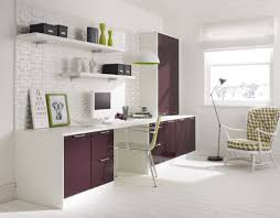 white home office desks. Contemporary White-Purple Office. Verona Cherry Home Office Desk White Desks