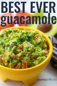 our favorite homemade guacamole buns