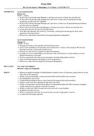 Resume Templates Lead Bartender Sample Incredible For Good Skills