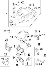 parts com® mazda cx 7 radiator components oem parts 2008 mazda cx 7 sport l4 2 3 liter gas radiator components