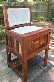 diy wooden deck cooler make a conservatory table box plans patio deck cooler stand plans