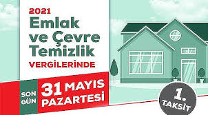 Emlak ve Çevre Temizlik Vergilerinde Son Ödeme 31 Mayıs - Foçalı Haber